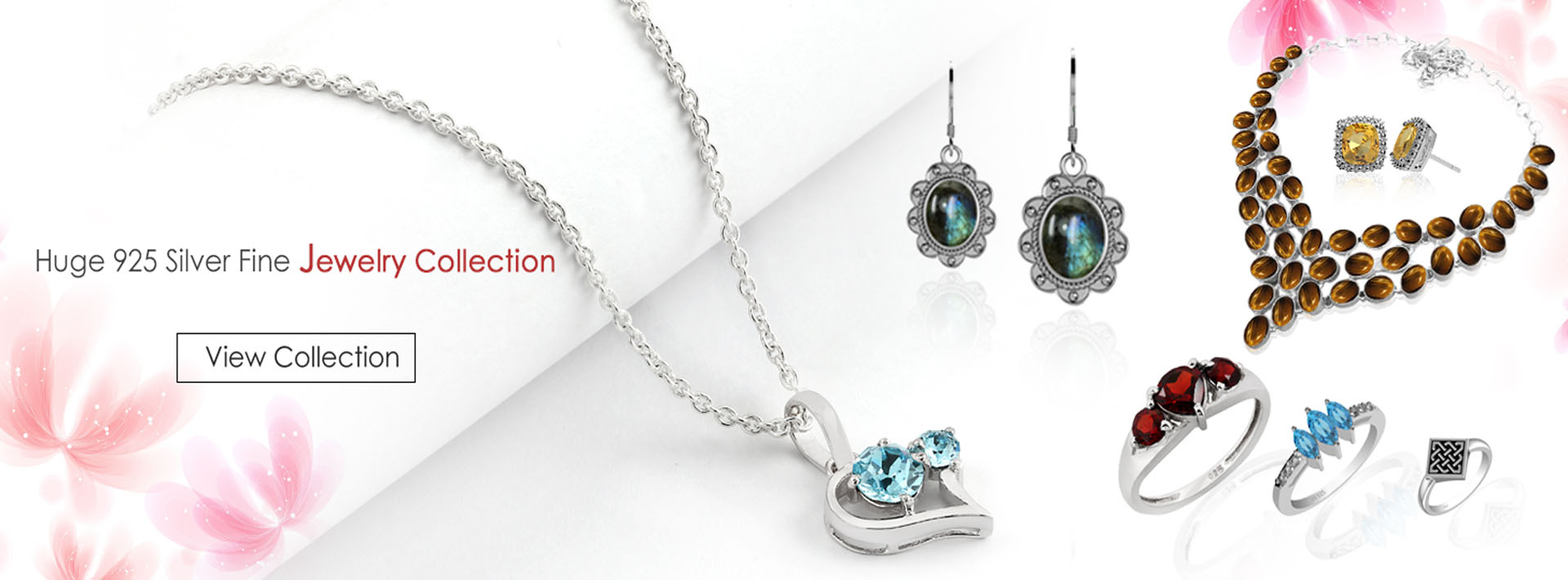 925 silver fine jewelry collection