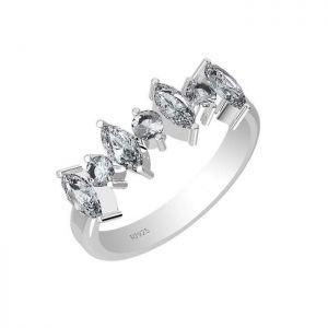 1.85ctw Genuine Aquamarine Solid 925 Sterling Silver Gemstone Ring (SJR1017)