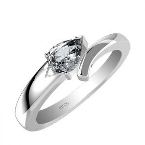 0.85ctw Genuine Aquamarine Solid 925 Sterling Silver Gemstone Ring (SJR1046)