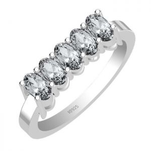 1.75ctw Genuine Aquamarine Solid 925 Sterling Silver Gemstone Ring (SJR1064)
