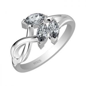 1.05ctw Genuine Aquamarine Solid 925 Sterling Silver Gemstone Ring (SJR10132)